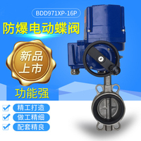 Explosion-proof electric butterfly valve